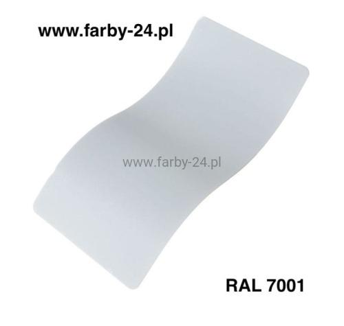 c601c87f16922b RAL 7001 Farba Proszkowa Poliestrowa Kolor Szary Srebrzysty Połysk  P/S1/U/7001/7-172 Minimum 20 kg